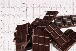 Шоколад уменьшает риск развития мерцательной аритмии.