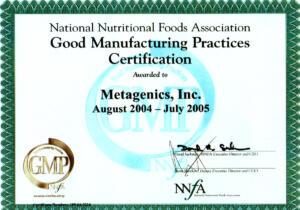 GMP-National-Nutrititional-Food-Association